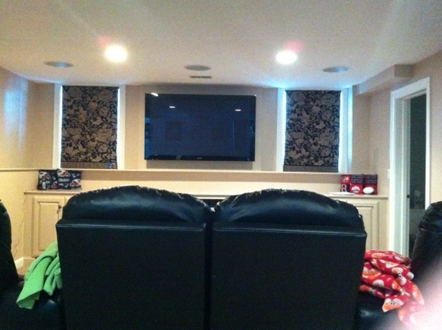 Concealed Flat Panel TV
